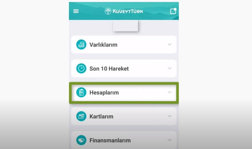 kuveyt türk müşteri numarası öğrenme iban sorgulama