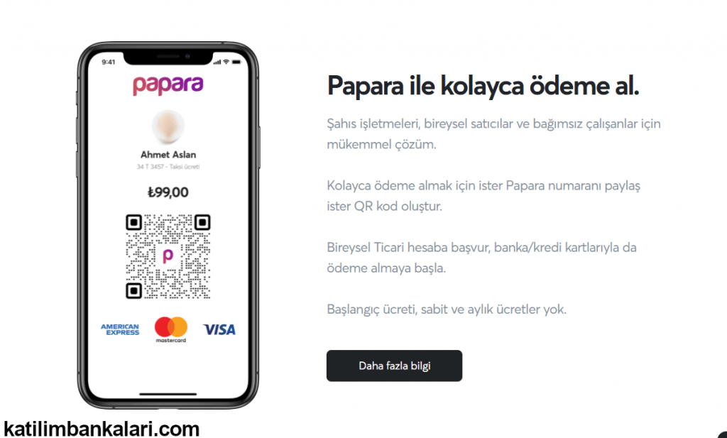 papara kart, papara ile banka hesabına para gönderme